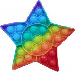 Игрушка антистресс Pop It Звездочка (2000024271019)