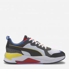 Кроссовки Puma X-Ray 37260203 45 (10.5) 29.5 см White-Black-Dark Shadow-High Risk Red-Palace Blue (4062451542016)