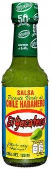Пикантный соус чили El Yucateco Хабанеро верде 120 мл (7501017660308)