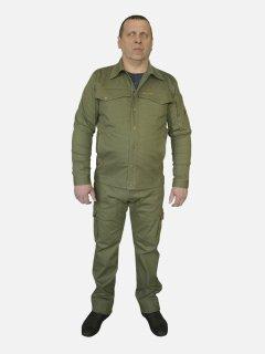 Костюм джинсовый (куртка + штаны) Acropolis ОКД-1 XL Оливковый (ROZ6400145465)