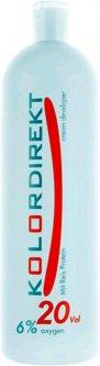 Окислитель KolorDirekt кремовый 6% 20vol для окрашивания волос 1 л (8201)