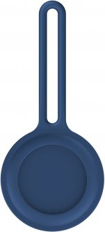 Чехол-брелок ArmorStandart для AirTag Silicone Long Loop Dark Blue (ARM58947)