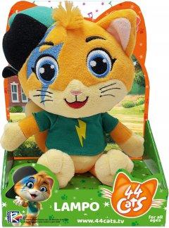 Мягкая игрушка 44 Cats Спалах с музыкой 20 см (34241) (4894386342412)