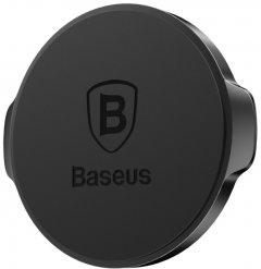 Автодержатель для телефона магнитный Baseus Holder Small Ears Series Magnetic Suction Bracket Flat Type Black (SUER-C01)