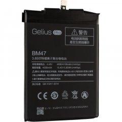 Аккумулятор Gelius Pro Xiaomi BM47 (Redmi 3/3s/3x/3Pro/4Х (4000 мАч) (2099900671586)