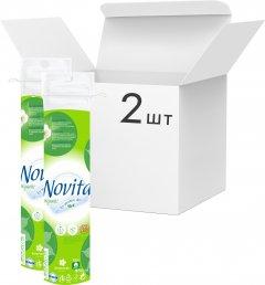 Упаковка ватных дисков Novita Organic 2 пачки по 80 шт (4820048487740)