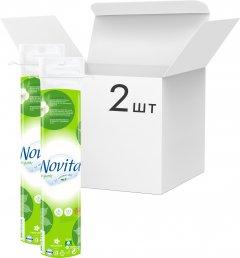 Упаковка ватных дисков Novita Organic 2 пачки по 120 шт (4823071617245)