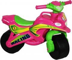 Велобег Active Baby Sport музыкальный розово/зеленый (0139-013М)