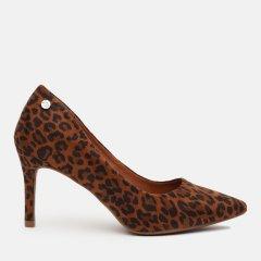 Лодочки XTI Camel Leopard Textile Ladies Shoes 35058-109 38 24 см (8434739481618)