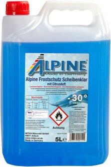 Зимний стеклоомыватель Alpine Frostschutz Scheibenklar -30°C 5 л (4003774001514)