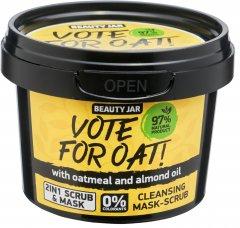 Очистительная маска-скраб для лица Beauty Jar Vote For Oat 120 г (4751030831022)