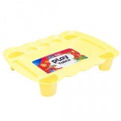 Игровой столик для песка и пластилина (желтый) PT 4164