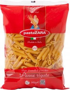 Упаковка макарон Pasta Zara Penne Rigate Перья 500 г х 4 шт (8004350130495_5004)
