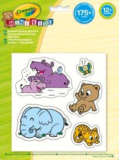 Набор стикеров Crayola Mini Kids Животные 175 шт (256291.124) (5025123125992)