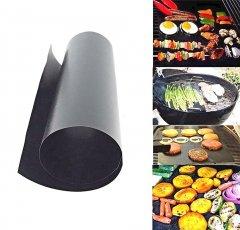 Антипригарний тефлоновий килимок для гриля BBQ grill sheet гриль мат 33х40х0.2 см (5 шт в упаковці)