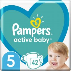 Подгузники Pampers Active Baby Размер 5 (Junior) 11-16 кг 42 шт (8001090950178)