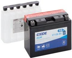 Мото аккумулятор Exide AGM 10 Ah Ев (-/+) 160EN (ET12B-BS)