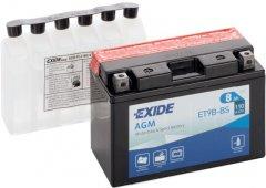 Мото аккумулятор Exide AGM 8 Ah (+/-) 110EN (ET9B-BS)