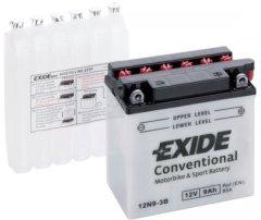 Мото аккумулятор Exide Conventional 9 Ah Ев (-/+) 85EN (12N9-3B)