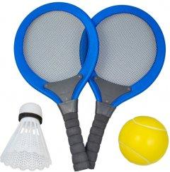 Набор ракеток для бадминтона Qunxing Toys Синий (6025) (4812501145779-1)