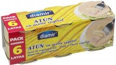 Тунец Diamir в подсолнечном масле 6 шт х 80 г (8436033874134)