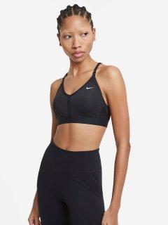 Спортивный топ Nike W Nk Df Indy V-Neck Bra CZ4456-010 M Черный (194502722260)