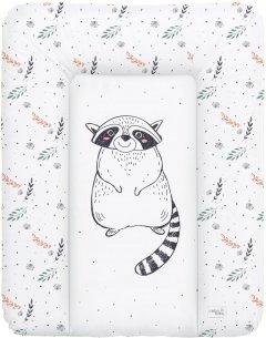 Матрас пеленальный на комод Ceba Baby 70х50 см мягкий Raccoon (W-143-000-636)