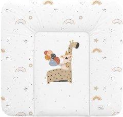 Матрас пеленальный на комод Ceba Baby 75x72 см мягкий Giraffe (W-144-000-637)
