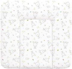 Матрас пеленальный на комод Ceba Baby 75x72 см мягкий Dream Roll-over White (W-144-903-100)