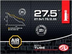 "Велокамера Author AT-MTB-27.5"" AV40 27.5x1.75/2.35 в коробочке (37227001)"