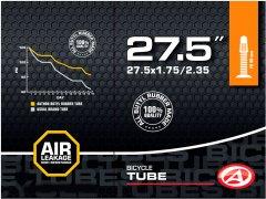 """Велокамера Author AT-MTB-27.5"""" FV40 27.5x1.75/2.35 в коробочке (37227201)"""