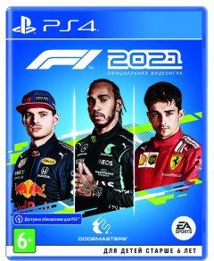 Игра F1 2021 для PS4 (Blu-ray диск, Russian subtitles)