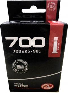 Велокамера Author AT-CROSS-700C AV40 700x25/38C в коробочке (37238001)