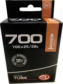Велокамера Author AT-CROSS-700C FV40 700x25/38C в коробочке (37238201)