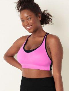 Спортивный бюстгальтер Victoria's Secret 535747819 M Розовый (1159753866)