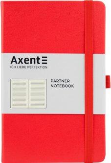 Записная книга Axent Partner 125х195 мм в линейку 96 листов Красная (8308-05-A)