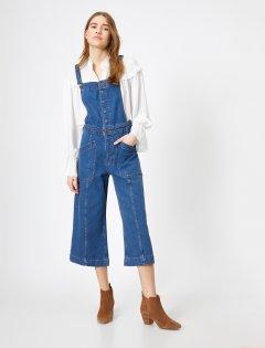 Полукомбинезон джинсовый Koton 0YAK47132MD-MID 40 Mid (8682263224342)