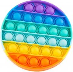 Игрушка антистресс Sibelly Pop It Rainbow Circle (SB-PPIT-RNB-CRCL) (9869205468517)