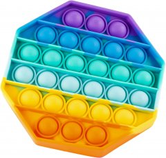 Игрушка антистресс Sibelly Pop It Rainbow Octagon (SB-PPIT-RNB-OCT) (9869205468524)