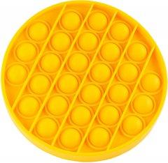 Игрушка антистресс Sibelly Pop It Mono Circle Yellow (SB-PPIT-CRCL-YL) (9869205468555)