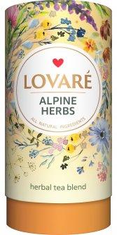 Смесь травяного, цветочного и плодово-ягодного чая Lovare Альпийские травы 80 г (4820198871369)