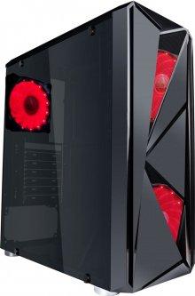 Корпус 1stPlayer F4-3A1-15LED Red