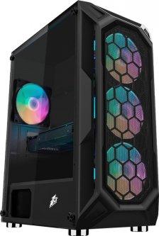 Корпус 1stPlayer X6-3G6P-1G6 Black