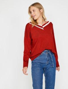 Пуловер Koton 0KAL98388UT-O92 XS Kiremit (8682260569491)