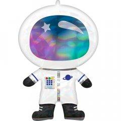 Шарик воздушный Amscan Iridescent Astronaut P40 (4119601)