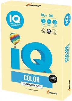 Бумага офисная IQ Color YE23 A3 80 г/м2 500 листов Светло-желтый (9003974400297)