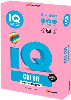 Бумага офисная IQ Color PI25 A3 80 г/м2 500 листов Розовая (9003974400273)