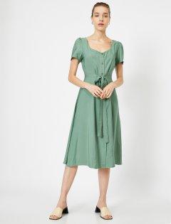 Платье Koton 0YAK83404EW-890 42 Khaki (8682261836172)