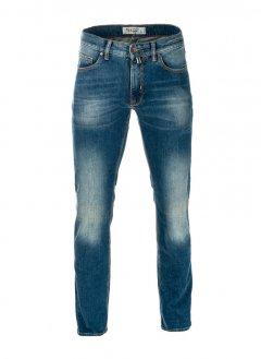 Чоловічі джинси Pierre Cardin з потертістю 36/34 Сині (А: 924/57 М: 3003)
