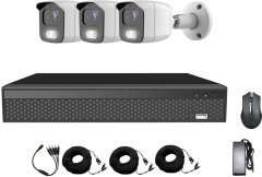 Комплект видеонаблюдения CoVi Security ADH-3W KIT (9333)